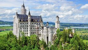 Neuschwanstein Castle. Royalty Free Stock Photography