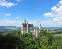 Neuschwanstein Castle. Schloss Neuschwanstein in Hohenschwangau, Germany Royalty Free Stock Photography