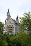 Neuschwanstein Castle in Schwangau Royalty Free Stock Photography