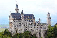 Neuschwanstein Castle in Schwangau Royalty Free Stock Image