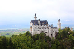 Neuschwanstein Castle in Schwangau Stock Photo