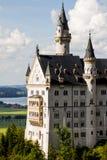 Neuschwanstein castle side view Stock Photo