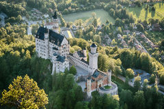 Neuschwanstein Castle - South-East View Royalty Free Stock Images