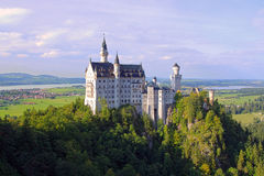 Neuschwanstein Castle. In South Germany Royalty Free Stock Photo