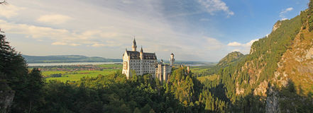 Neuschwanstein Castle. In South Germany Stock Photography