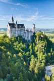 Neuschwanstein Castle - South Side Royalty Free Stock Image