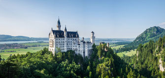 Neuschwanstein Castle. In southern germany Stock Photo