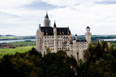 Neuschwanstein Castle in southwest Bavaria Stock Photography
