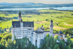 Neuschwanstein Castle and Surroundings Royalty Free Stock Photo