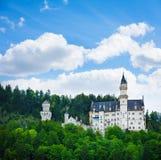 Neuschwanstein castle view Stock Photography