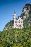 Neuschwanstein Castle, West Side Royalty Free Stock Photos