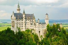 Neuschwanstein Disneys catle im Bayern Lizenzfreie Stockbilder
