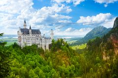 Neuschwanstein  fortress Royalty Free Stock Images