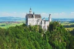 Neuschwanstein, Germany. View of the castle Neuschwanstein, Germany Stock Images