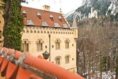 Neuschwanstein and Hohenschwangau Castle Stock Photo
