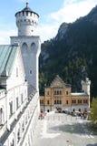 Neuschwanstein interno Imagens de Stock