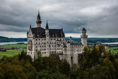 Neuschwanstein kasztel. Fotografia Royalty Free