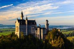 Neuschwanstein kasztel Obrazy Royalty Free