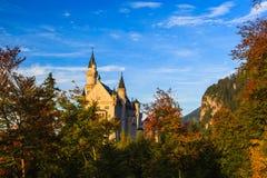 Neuschwanstein kasztel Zdjęcia Royalty Free