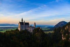 Neuschwanstein kasztel Fotografia Royalty Free