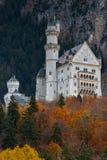 Neuschwanstein kasztel w Bavaria zdjęcia royalty free