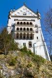 Neuschwanstein kasztelu szczegół Fotografia Stock