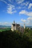 neuschwanstein Schloss stockbild