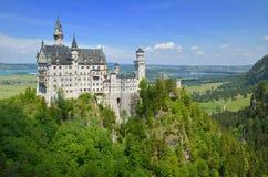 Neuschwanstein Schloss Lizenzfreie Stockfotos