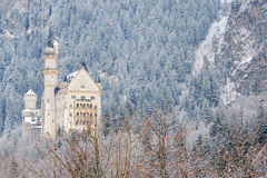 Neuschwanstein-Schloss Lizenzfreies Stockfoto