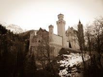 Neuschwanstein-Schloss Stockbild