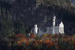 Neuschwanstein-Schloss stockfotos
