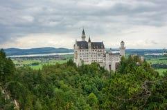Neuschwanstein Schloss Lizenzfreies Stockbild