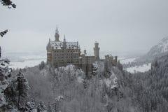 Neuschwanstein-Schloss in der Winterzeit Fussen deutschland Stockfotos