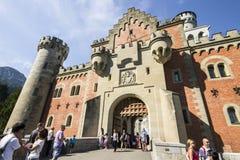 Neuschwanstein Schloss, Deutschland lizenzfreie stockbilder