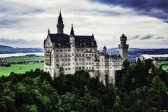 Neuschwanstein Schloss in Deutschland stockbild