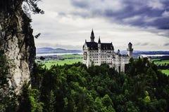 Neuschwanstein Schloss in Deutschland lizenzfreie stockbilder