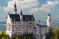 Neuschwanstein Schloss, Deutschland stockfotos