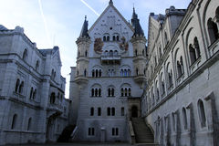 Neuschwanstein-Schloss im Bayern Stockbild