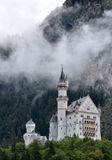 Neuschwanstein Schloss im Bayern, Deutschland Lizenzfreie Stockbilder