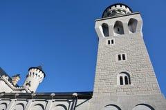 Neuschwanstein-Schloss, Schwangau, Deutschland - 31. Juli 2015 Lizenzfreie Stockfotografie