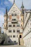 Neuschwanstein slott Royaltyfria Bilder