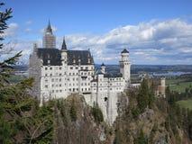 Neuschwanstein slott arkivfoto
