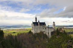 Neuschwanstein slott Royaltyfri Bild