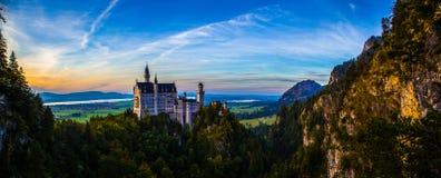 Neuschwanstein slott royaltyfri foto