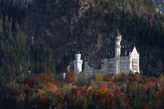Neuschwanstein slott Arkivfoton