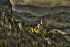 Neuschwanstein slott Royaltyfri Fotografi