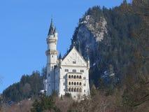 Neuschwanstein slott, Bayern Arkivfoto