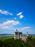 Neuschwanstein slott i Bayern, Tyskland Royaltyfria Bilder