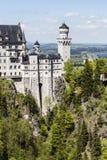 Neuschwanstein in southwest Bavaria Stock Images
