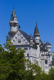 Neuschwanstein towers of the castle Royalty Free Stock Image